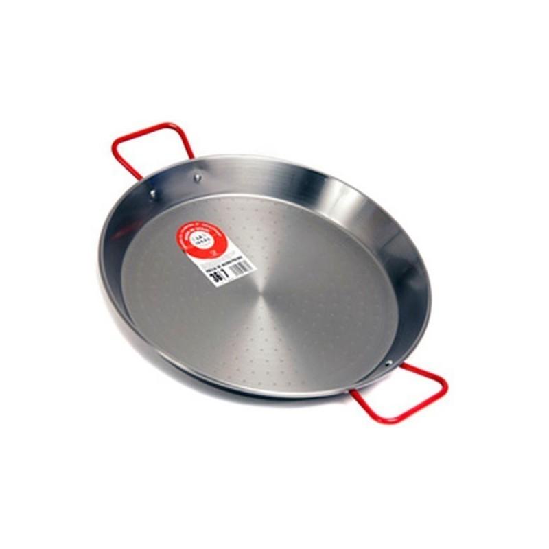 plat paella 80cm pour 40 personnes paellera geante