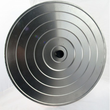 Couvercle 45cm en aluminium pour poêles géantes