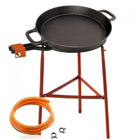 Set de cuisson - Poêle en fonte 50 cm