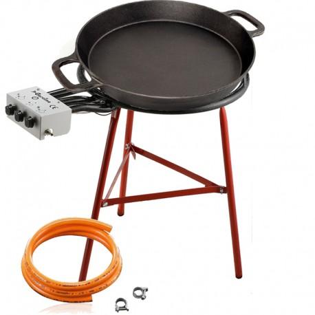 Set de cuisson - Poêle en fonte 80 cm