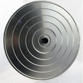 Couvercle 55cm en aluminium pour poêles géantes