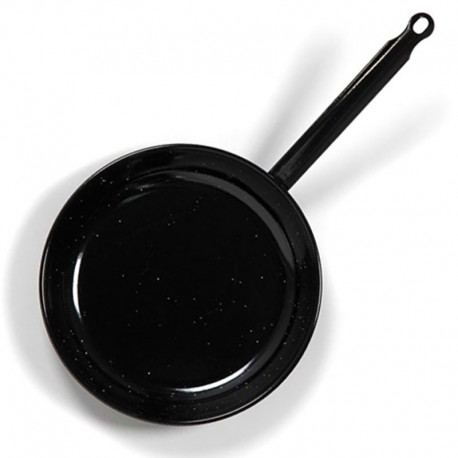 Poêle professionnelle induction en acier émaillé 32cm - Pata Negra