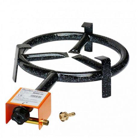 Bruleur à gaz 300 mm sans thermocouple