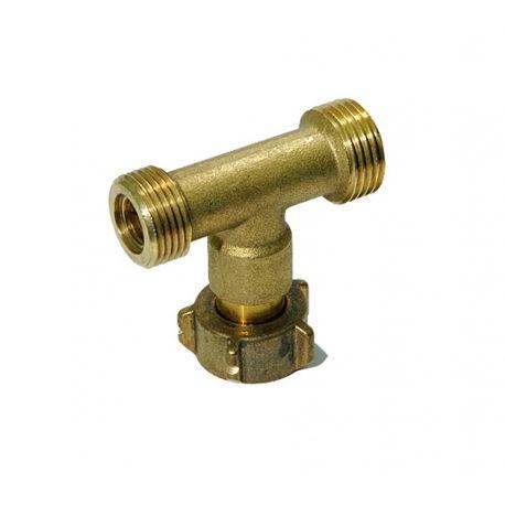 Connectique butane propane Raccord en T 20x150
