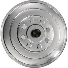 Couvercle 24cm en aluminium pour poêles géantes