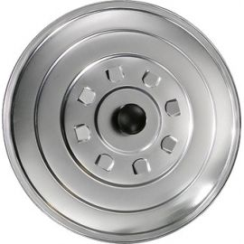 Couvercle 32cm en aluminium pour poêles à paella