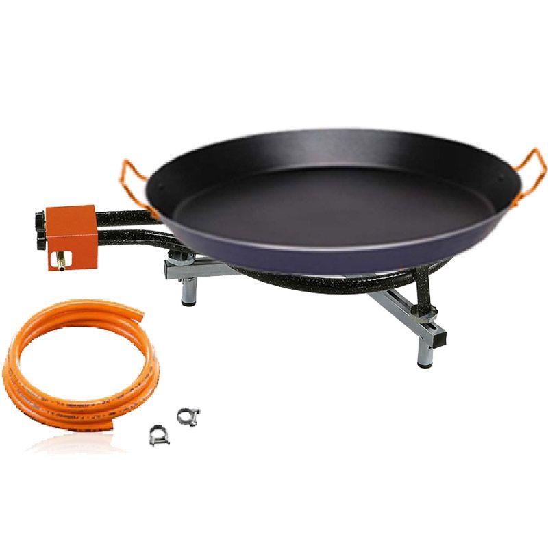 kit paella garcima pour 20 personnes avec po le en anti adh rente. Black Bedroom Furniture Sets. Home Design Ideas