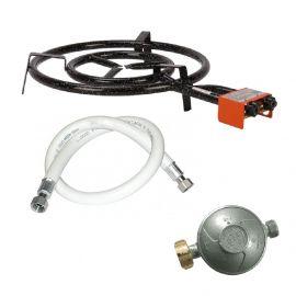 Réchaud Garcima 50cm avec tuyau de gaz + detendeur - 14.1kW