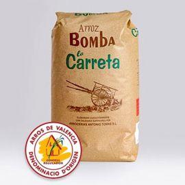 RIZ BOMBA Spécial Paella AOC de valence LA Carettera 1kg