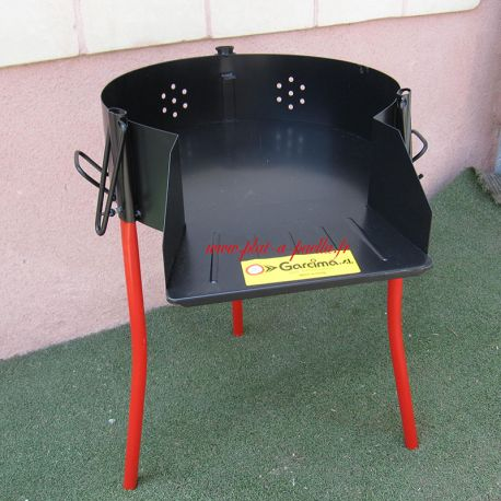 Barbecue pare flamme 60 cm sans grill