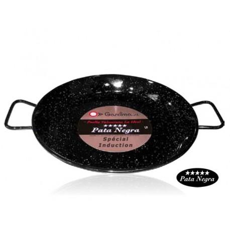 Plat à Paella émaillé 42cm - Spécial induction Garcima