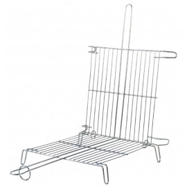 Double grille à Barbecue en inox (35x40cm)