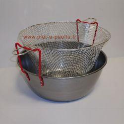 Kit à friture en acier 40cm - Garcima