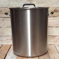 Faitout inox 40 litres - Triple fond