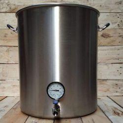 Cuve de brassage complète en inox 82 litres - Triple fond