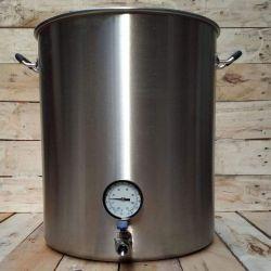 Kit complet de brassage inox 82 litres - Gaz naturel 14.5kw