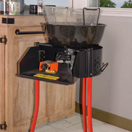 Kit Friteuse à gaz Garcima - 11 litres