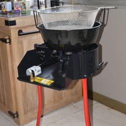 Kit friteuse pro à gaz bbq40- 11 litres - 40 cm
