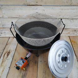Kit friteuse à gaz - 11 litres - 40 cm