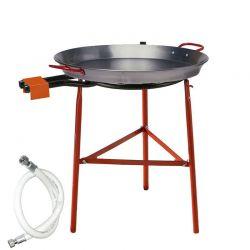 Kit à paella pour 30 personnes - Poêle acier
