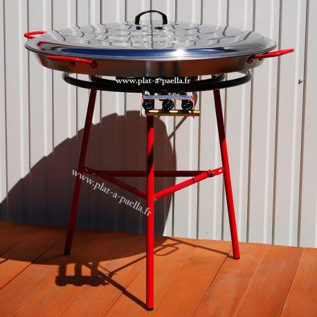 Kit à paella pour 85 personnes - Poêle acier