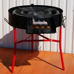 Barbecue pare flamme 70 cm
