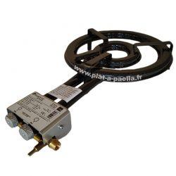 TT380 - Bruleur Butane / Propane surpuissant 38cm haut de gamme avec thermocouple + veilleuse - 11.4kW - 28mbar